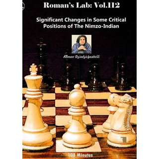 Roman Dzindzichashvili: Nimzo-Indian - Significant Changes (RL 112) - DVD