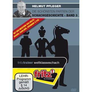 Helmut Pfleger: Die schönsten Partien der Schachgeschichte 3 - DVD