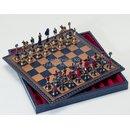 Schachkassette 35 x 35 cm, Salpaleder