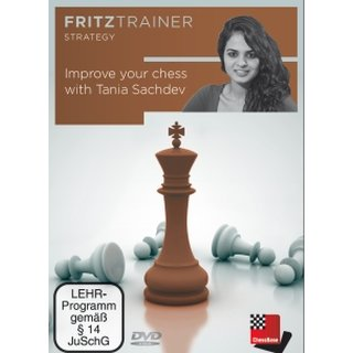 Tania Sachdev: Improve your chess with Tania Sachdev - DVD