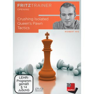 Robert Ris: Crushing Isolated Queen´s Pawn Tactics - DVD