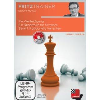Mihail Marin: Pirc-Verteidigung - Band 1 - DVD