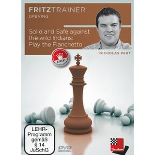 Nick Pert: Solid and Safe against the wild Indians: Play the Fianchetto - DVD