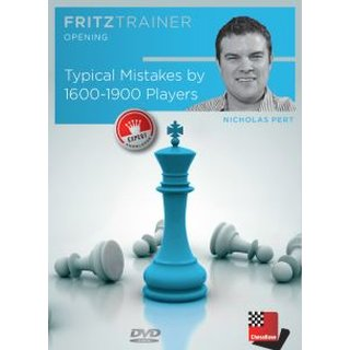 Nick Pert: Typical Mistakes by 1600-1900 Players - DVD