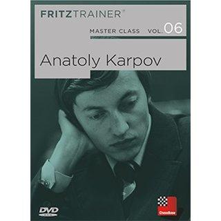 Karsten Müller, Mihail Marin: Masterclass Band 6: Anatoly Karpov - DVD