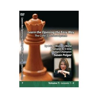 Susan Polgar The Colle-Zukertort-System - DVD