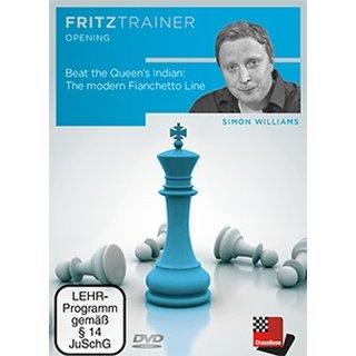 Simon Williams: Beat the Queen´s Indian: The modern Fianchetto Line - DVD