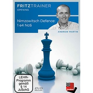Andrew Martin: Nimzowitsch Defence: 1.e4 Nc6 - DVD