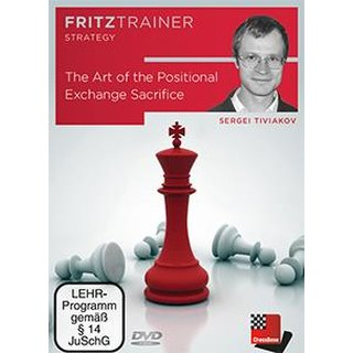 Sergei Tiwjakow: The Art of the Positional Exchange Sacrifice - DVD