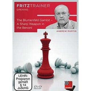 Andrew Martin:  The Blumenfeld Gambit  - DVD