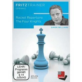 Simon Williams:  Rocket Repertoire: The Four Knights  - DVD