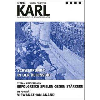 Karl - Die Kulturelle Schachzeitung 2003/04