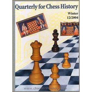 Vlastimil Fiala: Quarterly for Chess History 12