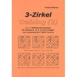 Frank Oltman: 3-Zirkel Training 2