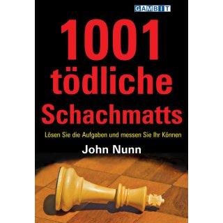 John Nunn: 1001 tödliche Schachmatts