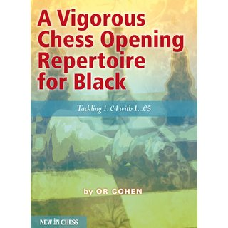 Or Cohen: A Vigorous Chess Opening Repertoire for Black