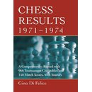 Gino Di Felice: Chess Results, 1971 - 1974