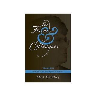 Mark Dworetski: For Friends and Colleagues - Vol. 2 - Limited Edition