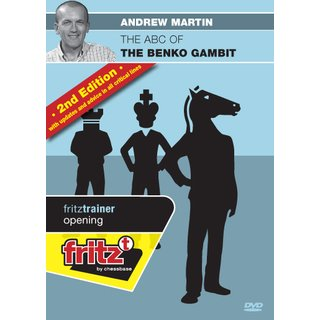 Andrew Martin: The ABC of the Benko Gambit 2nd edition - DVD