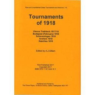 Anthony J. Gillam: Tournaments of 1918