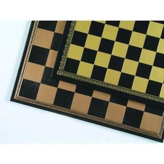 Schachbrett aus Salpaleder, FG 35 mm, schwarz
