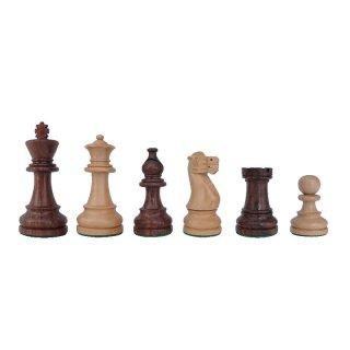 Schachfiguren American Staunton, KH 98 mm, im Holzkasten