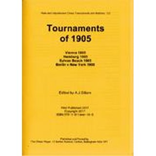 Anthony J. Gillam: Tournaments of 1905