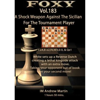Andrew Martin: A Shock Weapon Against the Sicilian (FS 183) - DVD