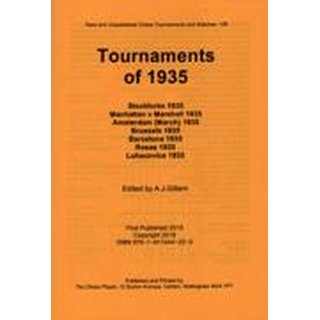 Anthony J. Gillam: Tournaments of 1935