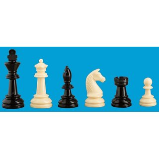 Schachfiguren Staunton 2030, Kunststoff, 93 mm