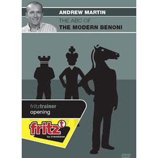 Andrew Martin: The ABC of the Modern Benoni - DVD