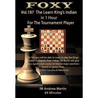 Andrew Martin: Learn the King´s Indian in 1 Hour - DVD