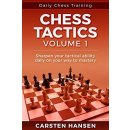 Carsten Hansen: Daily Chess Training: Chess Tactics - Vol. 1