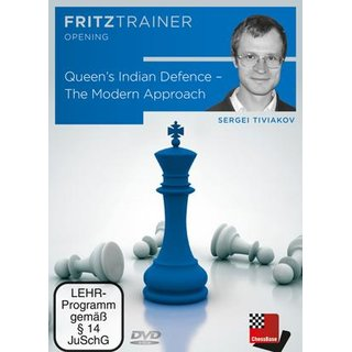 Sergei Tiwjakow: Queen´s Indian Defence - DVD