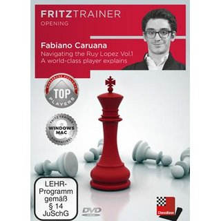 Fabiano Caruana, Oliver Reeh: Navigating the Ruy Lopez - Vol. 1 - DVD