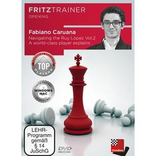 Fabiano Caruana, Oliver Reeh: Navigating the Ruy Lopez - Vol. 2 - DVD