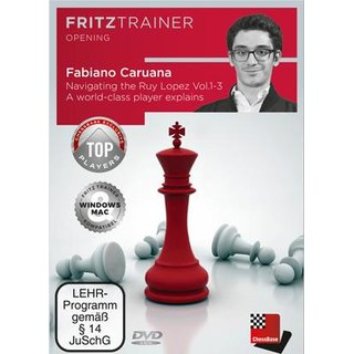 Fabiano Caruana, Oliver Reeh: Navigating the Ruy Lopez - Vol. 1 - 3 - DVD