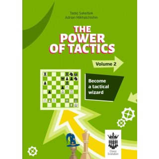 Tadej Sakelsek, Adrian Michaltschischin: The Power of Tactics - Vol. 2