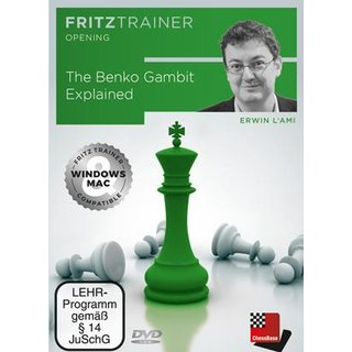 Erwin L´Ami: The Benko Gambit Explained - DVD