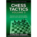 Carsten Hansen: Daily Chess Training: Chess Tactics - Vol. 3