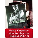Garri Kasparow: How to play the Najdorf Vol. 1-3 (Paket)...
