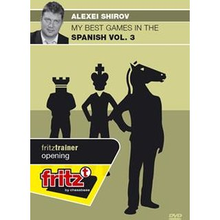 Alexei Shirov: My best games in the Spanish Vol. 3 - DVD