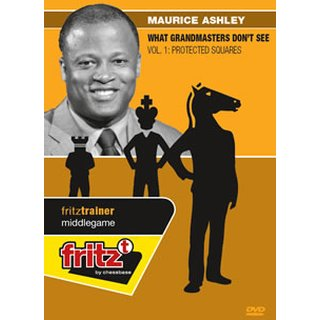 Maurice Ashley: What Grandmasters Don´t See Vol. 1: Protected Squares - DVD