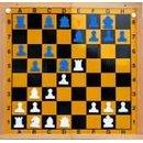 Demo-Schachbrett blau/weiß