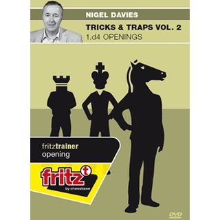 Nigel Davies: Tricks & Traps Vol. 2 - 1.d4 Openings  - DVD