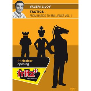 Valeri Lilov: Tactics - from Basics to Brilliance Vol. 1  - DVD