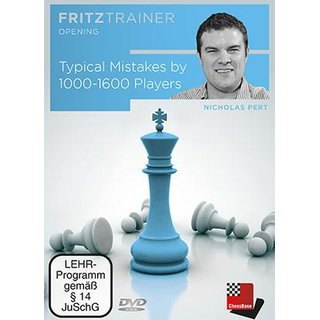 Nick Pert: Typical Mistakes by 1000-1600 Players - DVD