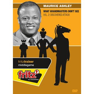 Maurice Ashley: What Grandmasters Don´t See Vol. 2: Discovered Attack - DVD