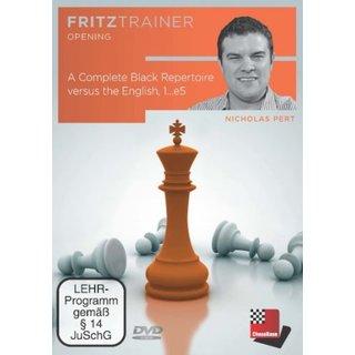 Nick Pert: Complete Black Repertoire vs. the English, 1...e5